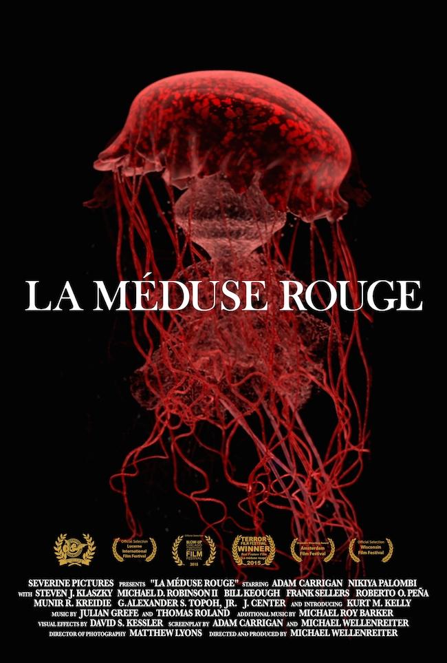 La méduse rouge - poster